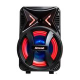Caixa Amplificada Amvox ACA 189 Montanha 180 w Bluetooth Rádio FM