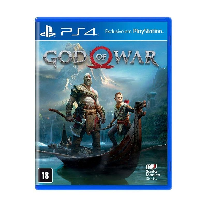 Jogo God Of War 4 - Playstation 4 - Sieb