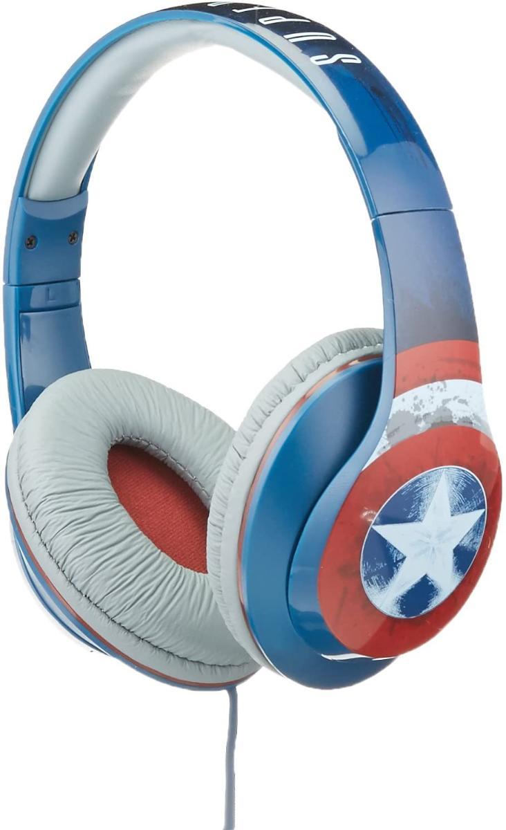 Fone de Ouvido Captain America Ekids Vi-m40ca