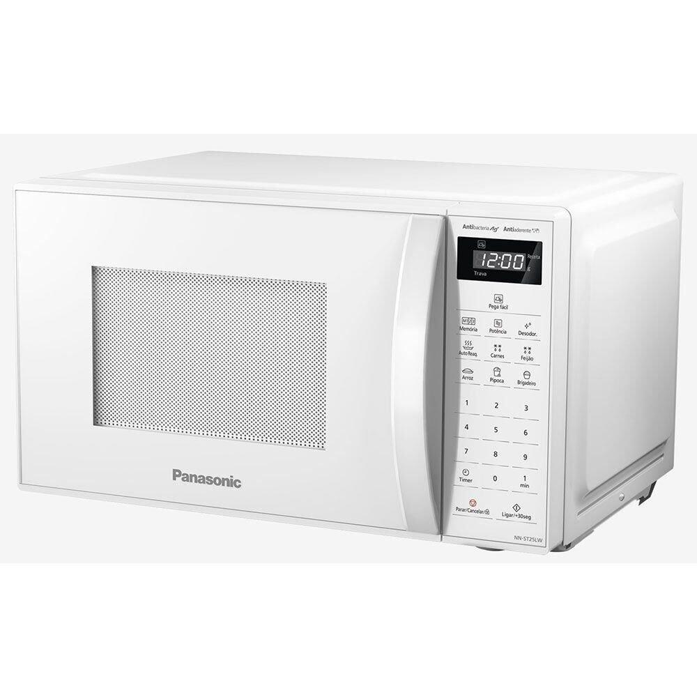 Imagem de Micro-ondas Panasonic 21 Litros Branco - NN-ST25LWRUN