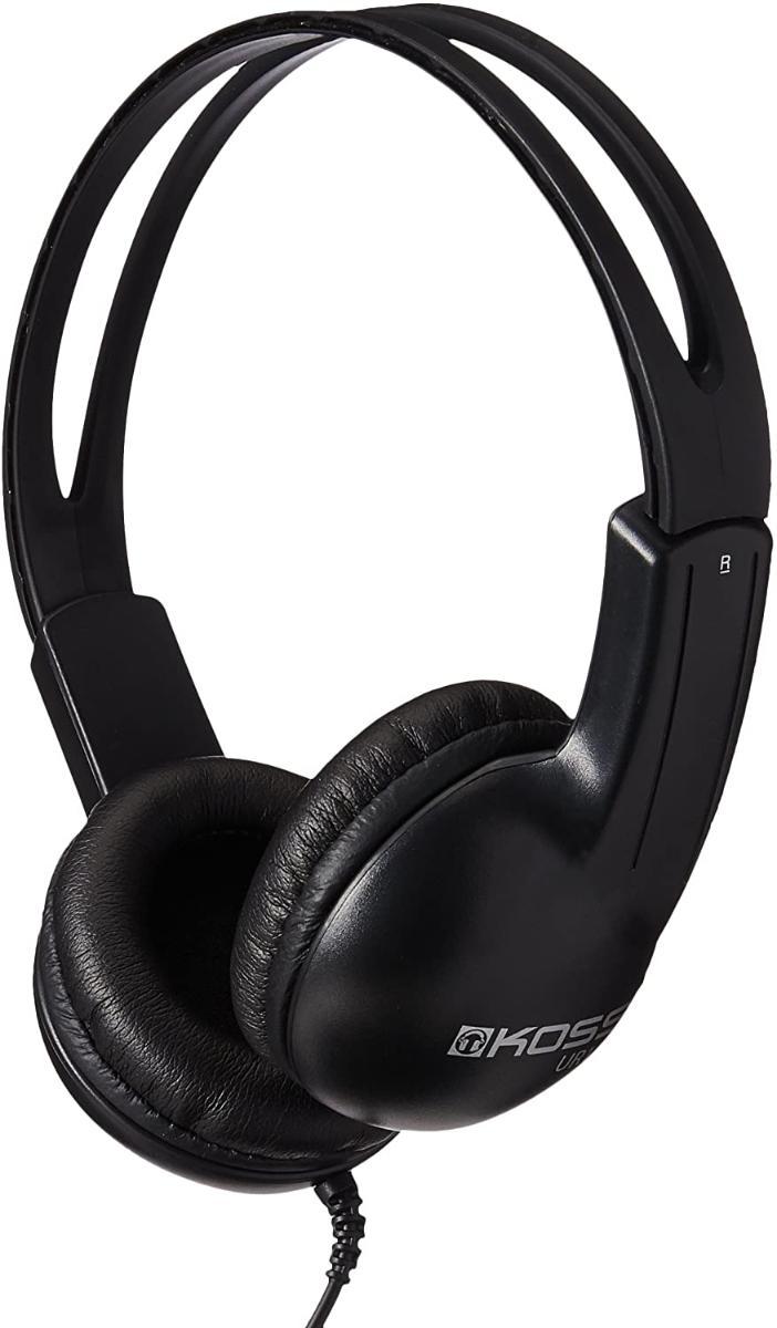 Fone de Ouvido Headphone Com Haste Ajustável Preto Koss R10