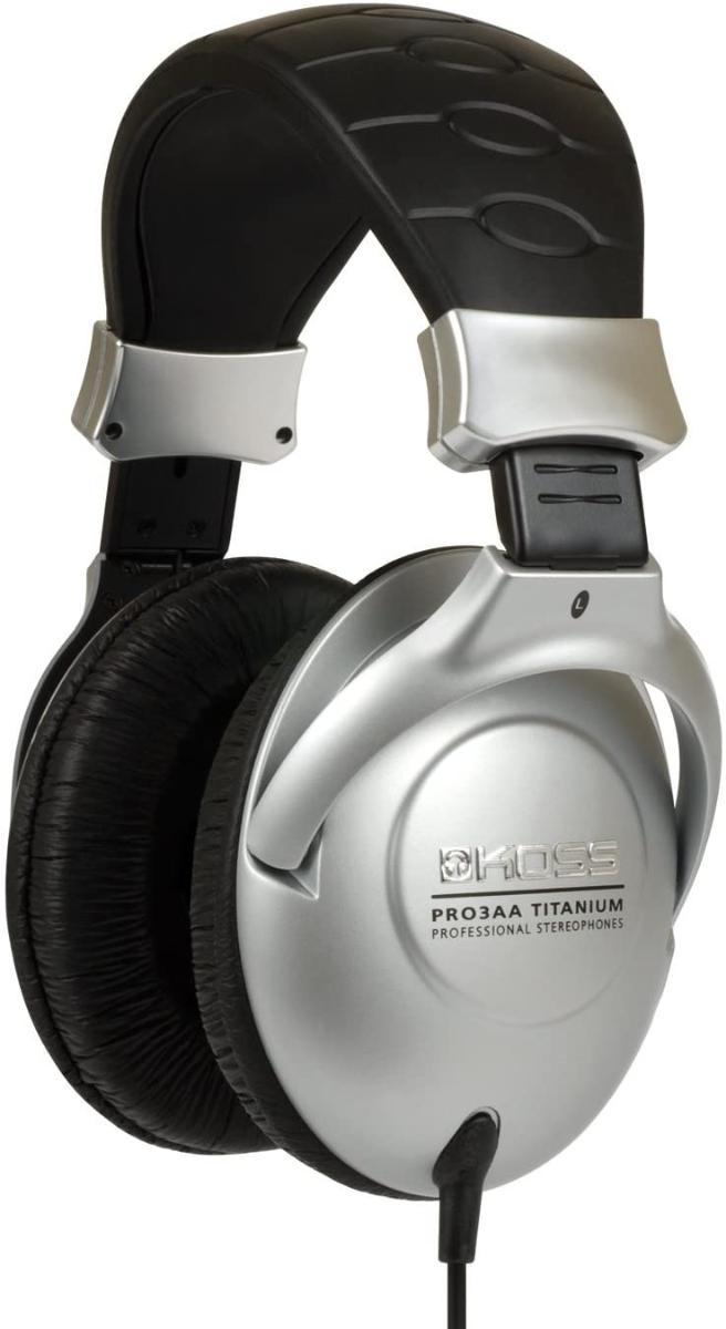 Fone de Ouvido Headphone Titanium Performance Koss Pro3aa