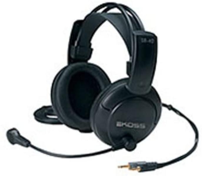 Fone de Ouvido Headset Full Size Preto Koss Sb40