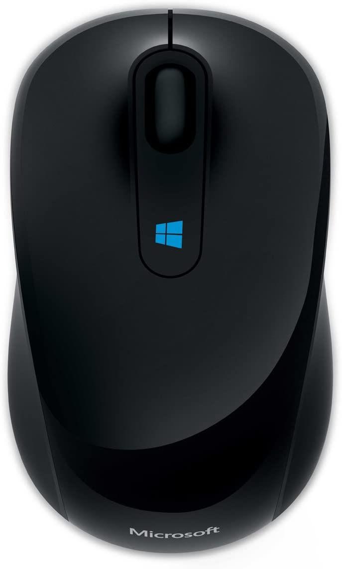 Mouse Wireless Óptico Led 1000 Dpis Sculpt Mobile 43u-00001 Microsoft