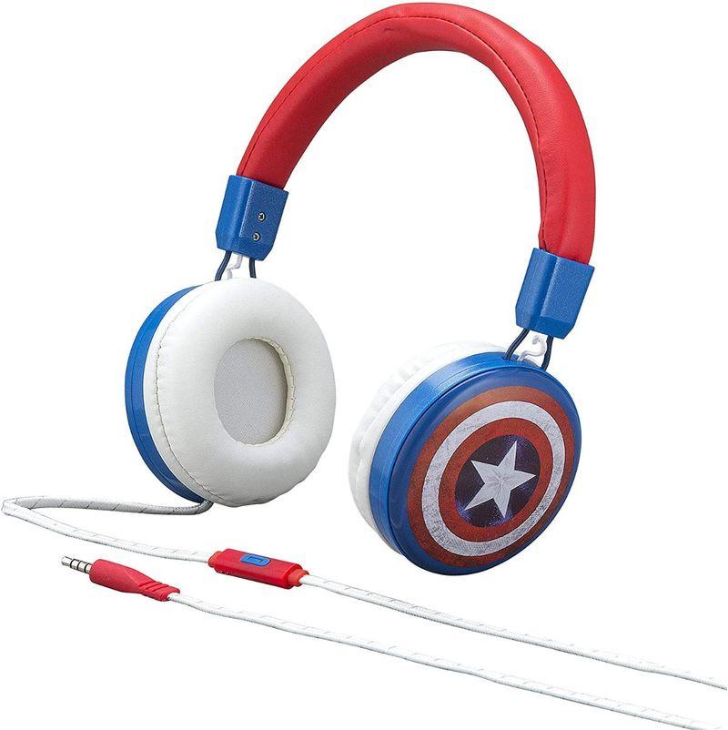 Fone de Ouvido Captain America Ekids
