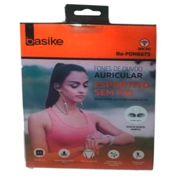 Fone de Ouvido Auricular Esportivo Basike (ba-fon6675