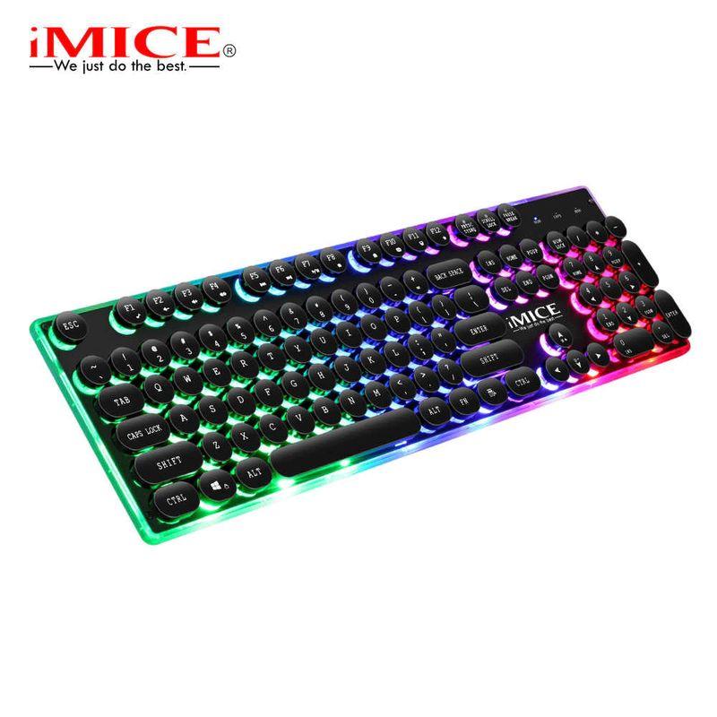 Teclado Usb Wired Gaming Ak-700 Imice