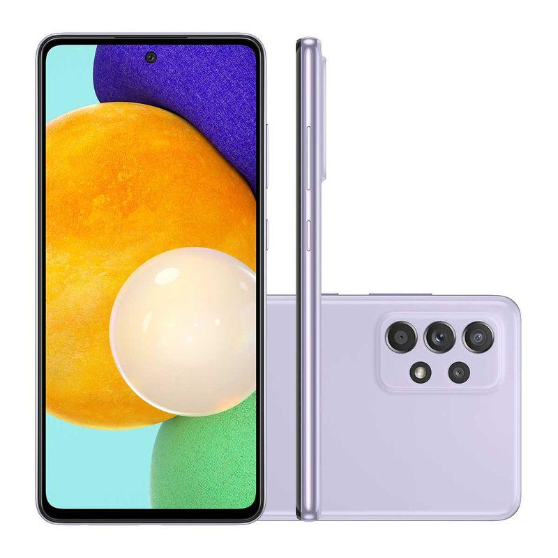 Celular Smartphone Samsung Galaxy A52 A525m 128gb Violeta - Dual Chip