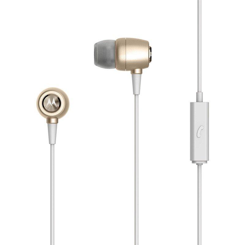 Fone de Ouvido Earbuds Metal Intra-auricular Motorola Sh009
