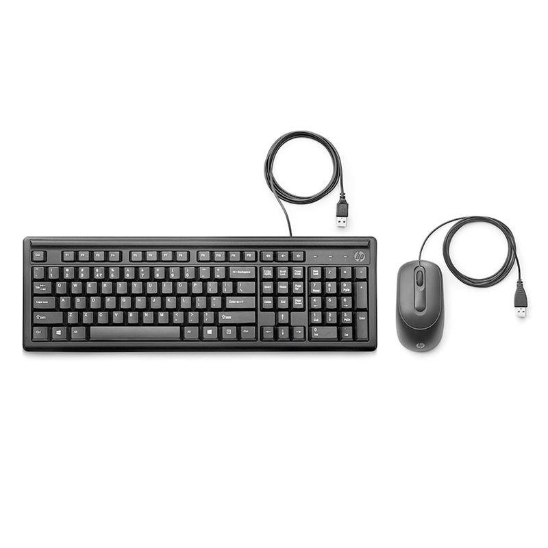 Kit Teclado e Mouse Usb Hp160 6hd76aaac4 Hp