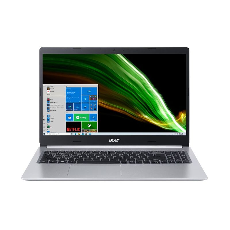 "Notebook - Acer A515-55-50mz I5-1035g1 1.00ghz 8gb 512gb Ssd Intel Hd Graphics Windows 10 Home Aspire 5 15,6"" Polegadas"