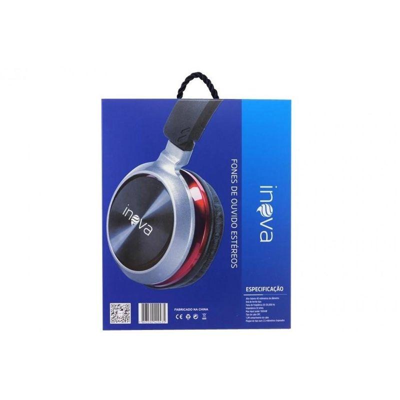 Fone de Ouvido Extra Bass Inova Fon-8637