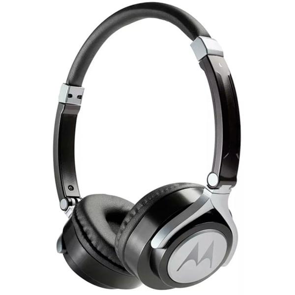 Fone de Ouvido Headphone Com Microfone Pulse 2 Wired Preto Motorola Mo-sh005bki