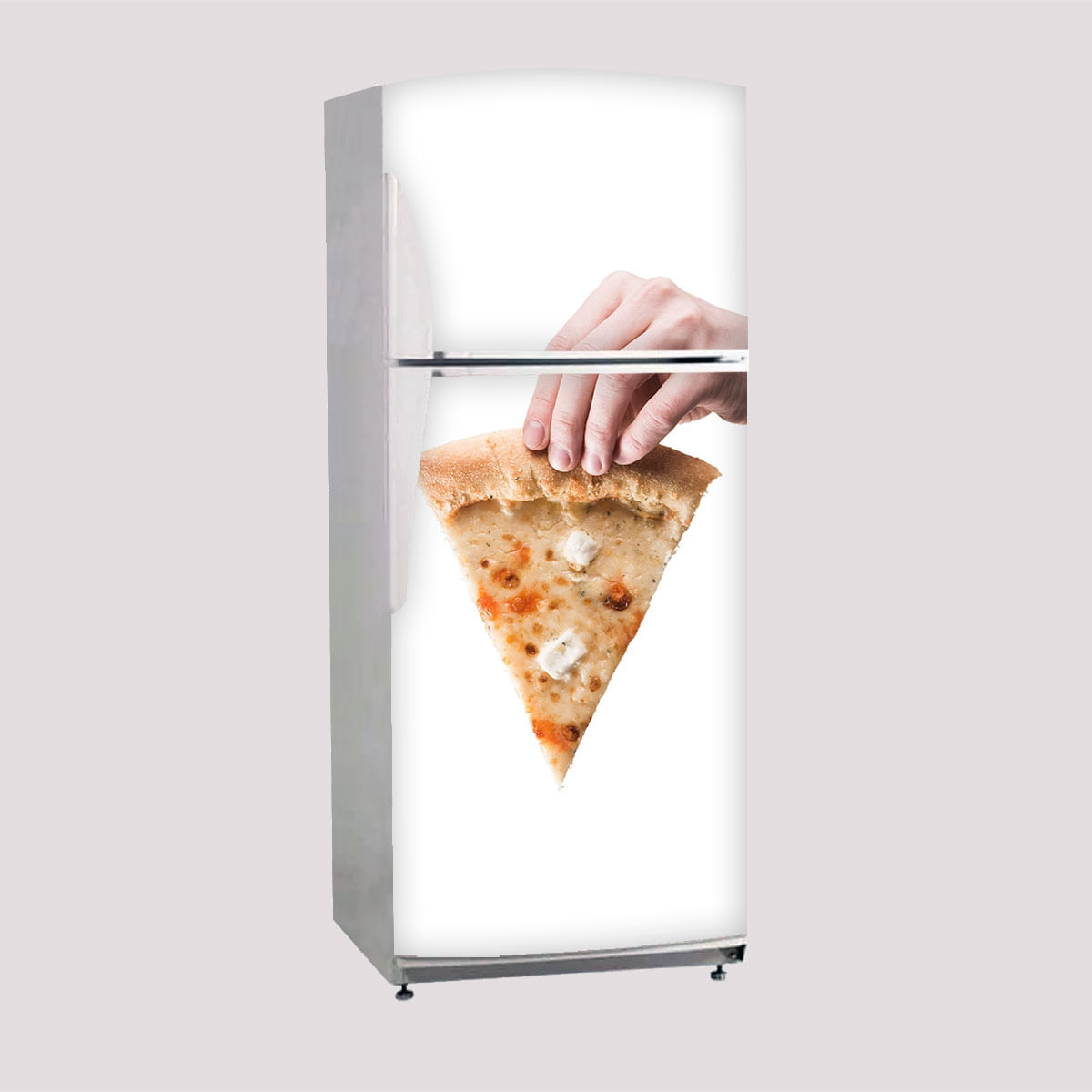 Envelopamento De Geladeira Porta Pedaco De Pizza Side By Side Carrefour Carrefour