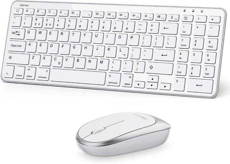 Kit Teclado e Mouse Omoton Apple