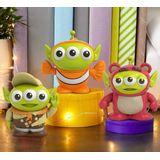 Mattel Pixar Alien Remix Lotso Nemo Russell 3-Pack Personagens em um Pacote de Caixa de Pizza, Presente para Colecionadores Idades 6 Anos e Mais Velho