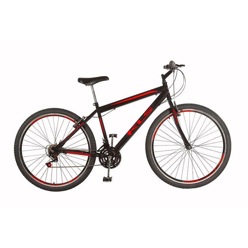 Bicicleta Kls Sport Aro 29 Rígida 21 Marchas - Preto
