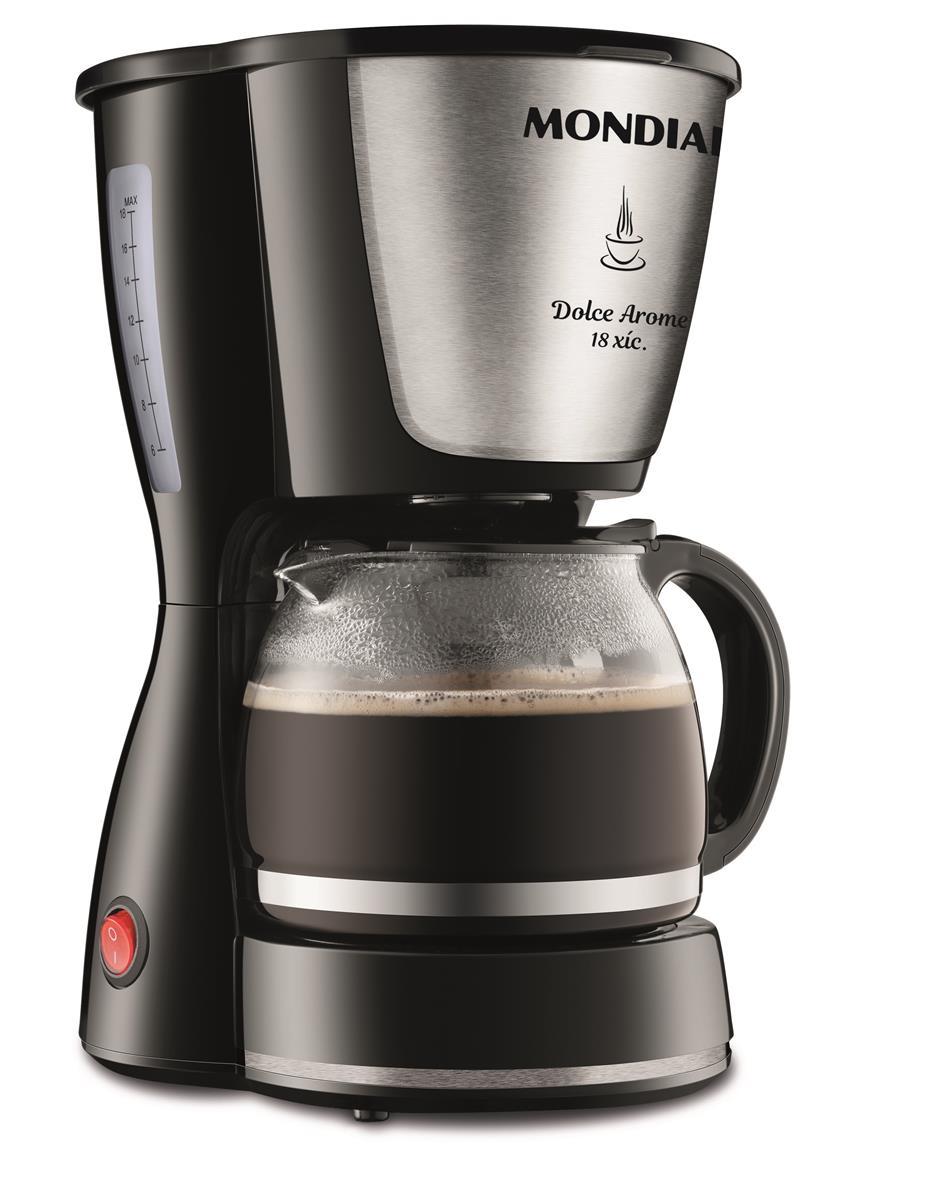 Cafeteira Elétrica Mondial Dolce Arome Preto 220v - C30