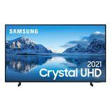 Smart TV Samsung Crystal UHD 4K 60AU8000 Design Slim Som em Movimento Virtual Visual Sem Cabos 60' Samsung
