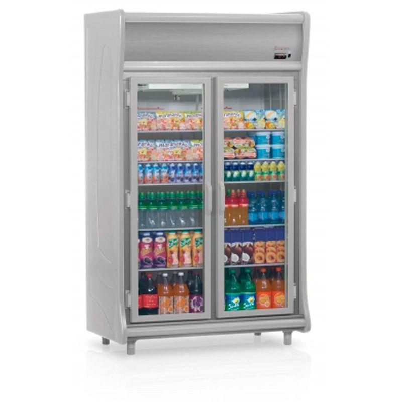 Geladeira/refrigerador 922 Litros 2 Portas Cinza - Gelopar - 110v - Gevt-2p