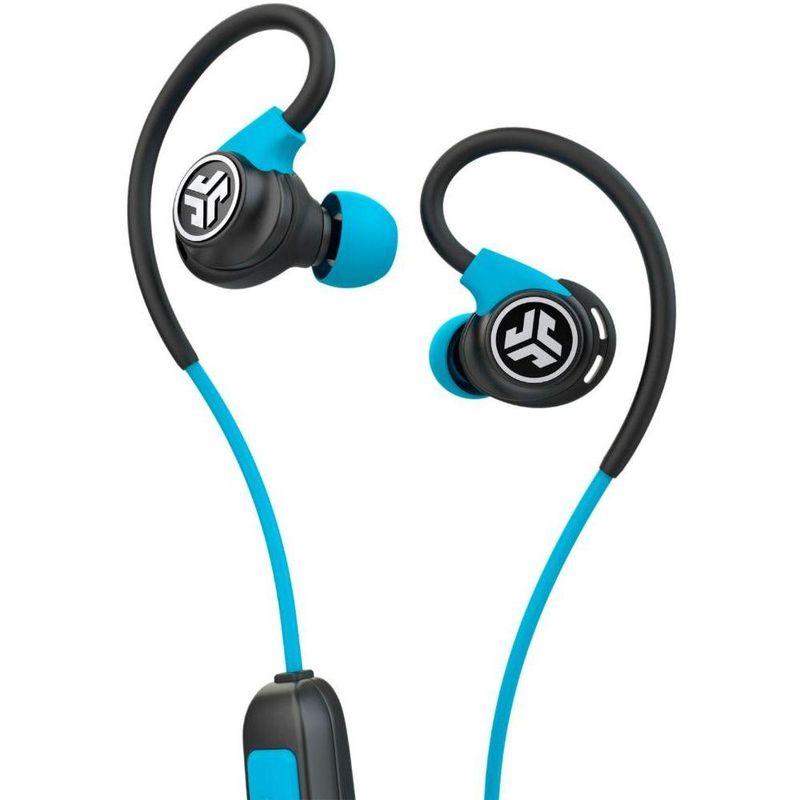 Fone de Ouvido Audio Sport Fitness Earbuds Wireless Jlab Audio Ebfitsportrblk123