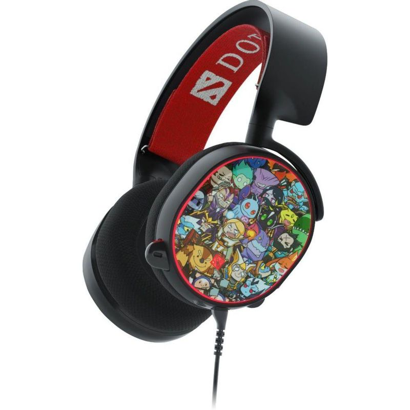 Fone de Ouvido Headphone Siberia V2 Dota 2 Edition Steelseries 51143