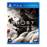 Jogo Ghost Of Tsushima PlayStation 4 Sucker Punch Productions