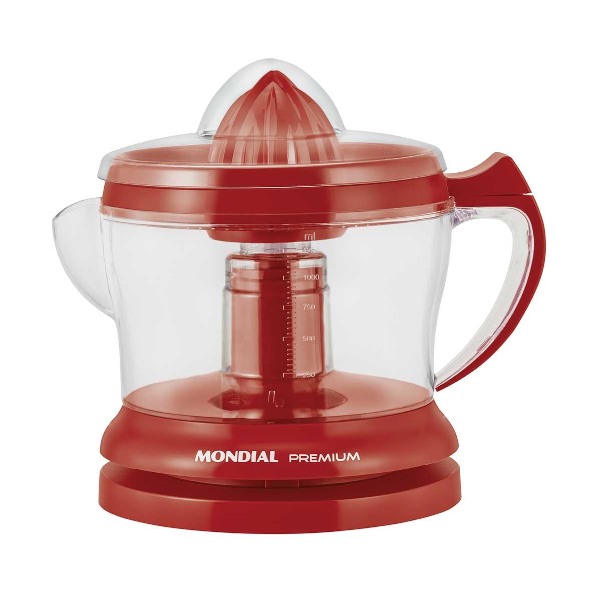 Imagem de  Espremedor de Frutas Mondial RED Premium E-23