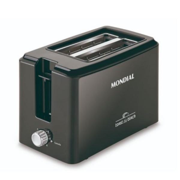Imagem de Torradeira Mondial Toast Due Black - T-05