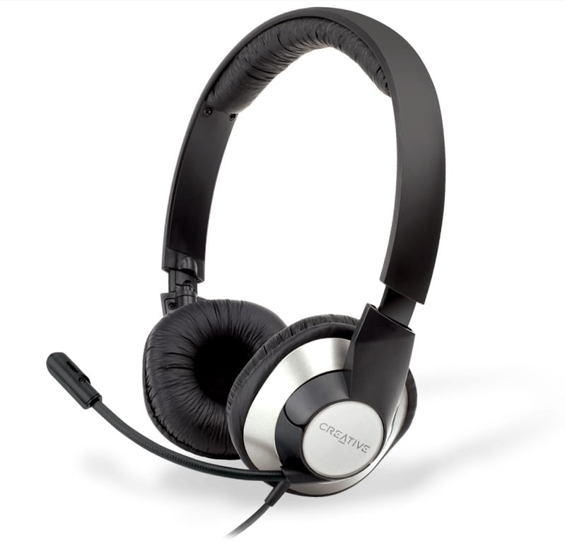 Fone de Ouvido Headset Gamer Labs He Preto Creative Hs720