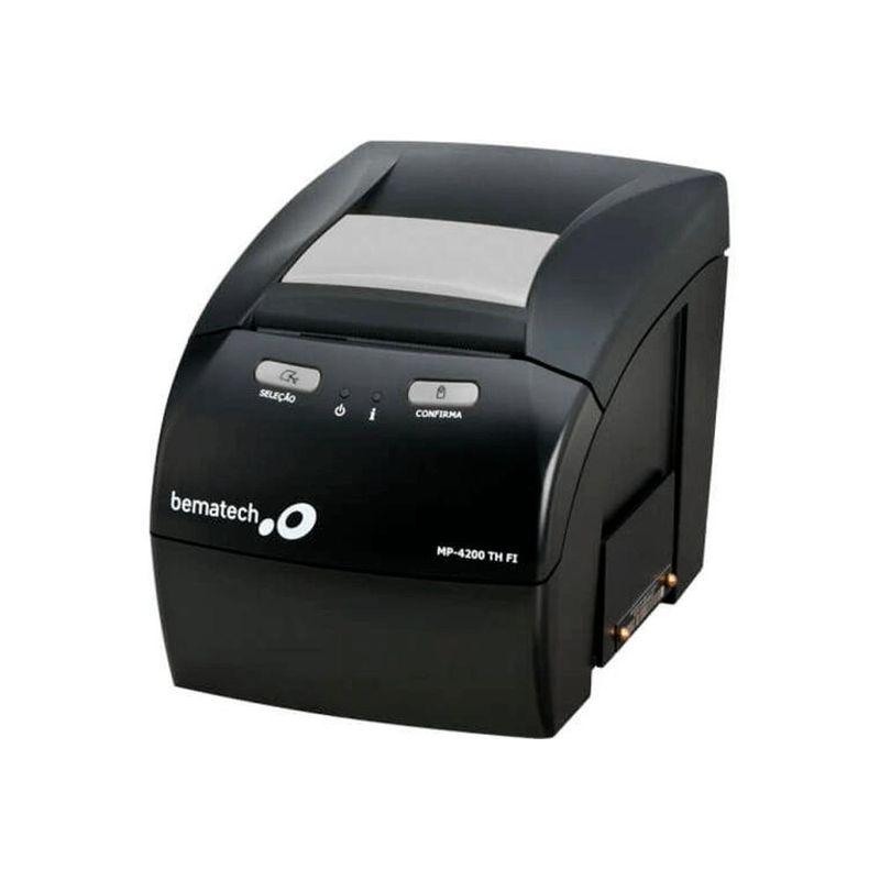 Impressora Térmica Não Fiscal Bematech Mp-4200 Th Transferência Térmica Monocromática Ethernet Bivolt