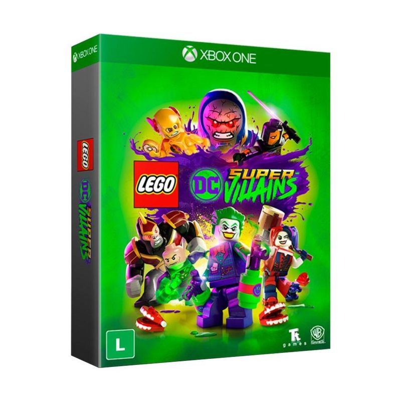 Jogo Lego Dc Super Villains - Edição Especial - Xbox One - Warner Bros Interactive Entertainment