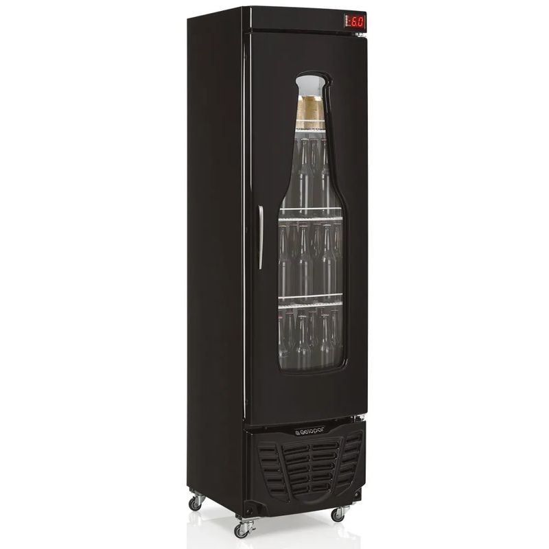 Geladeira/refrigerador 230 Litros 1 Portas Preto - Gelopar - 220v - Grba-230evpr