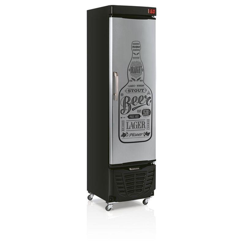 Geladeira/refrigerador 228 Litros 1 Portas Adesivado Bem Gelada - Gelopar - 220v - Grba230gw