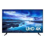 "Samsung Smart TV 70"" UHD 4K 70AU7700, Processador Crystal 4K, Tela sem limites, Visual Livre de Cabos, Alexa built in, Controle Único"
