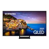 """Samsung Smart TV 55"""" QLED 4K 55Q70A, Modo Game, Processador IA, Som em Movimento Virtual, Tela sem limites, Design slim, Alexa built in"""