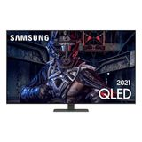 """Samsung Smart TV 65"""" QLED 4K 65Q80A, Modo Game, Processador IA, Som em Movimento, Tela sem limites, Visual livre de cabos, Alexa built in"""