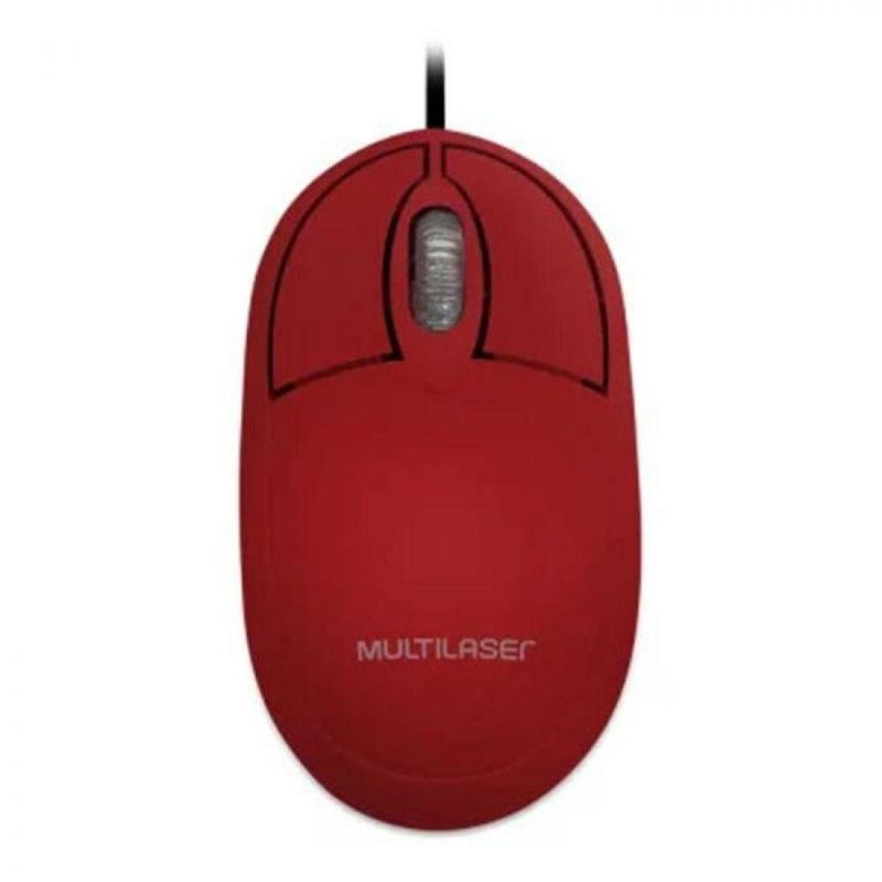Mouse Usb Laser 1200 Dpis M-7226 Multilaser