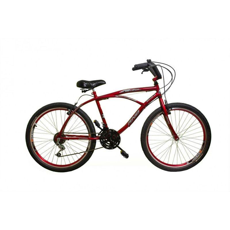 Bicicleta Rino Caiçara Aro 26 Rígida 18 Marchas - Branco