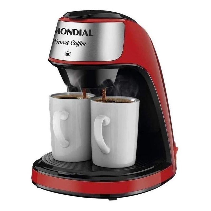 Cafeteira Elétrica Mondial Smart Coffee Vermelho 110v - C-42
