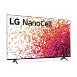 "Smart TV LG 65"" 4K NanoCell 65NANO75 3x HDMI 2.0 Inteligência Artificial ThinQAI Smart Magic 2021"