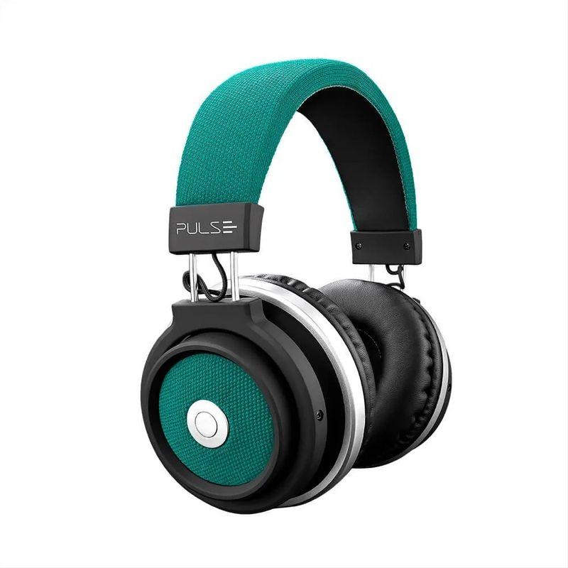 Fone de Ouvido Headphone Large Azul Pulse Sound Ph228