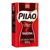 Café Torrado e Moído Pilão Tradicional Vácuo 500 g