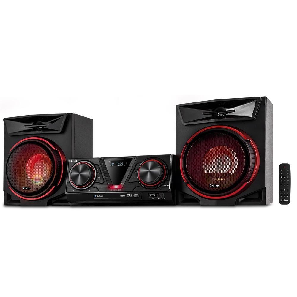 Imagem de Mini System Philco Bluetooth Usb Rádio Fm - PHS500BT