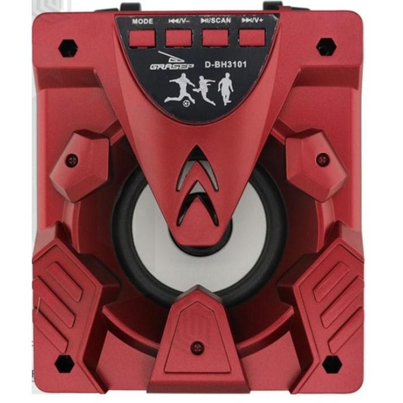 Caixa de Som Grasep Vermelho D-bh3101