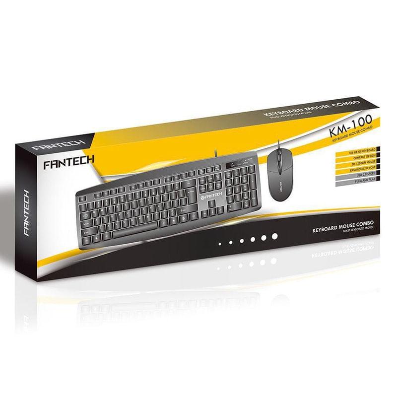 Kit Teclado e Mouse Km-100 Fantech
