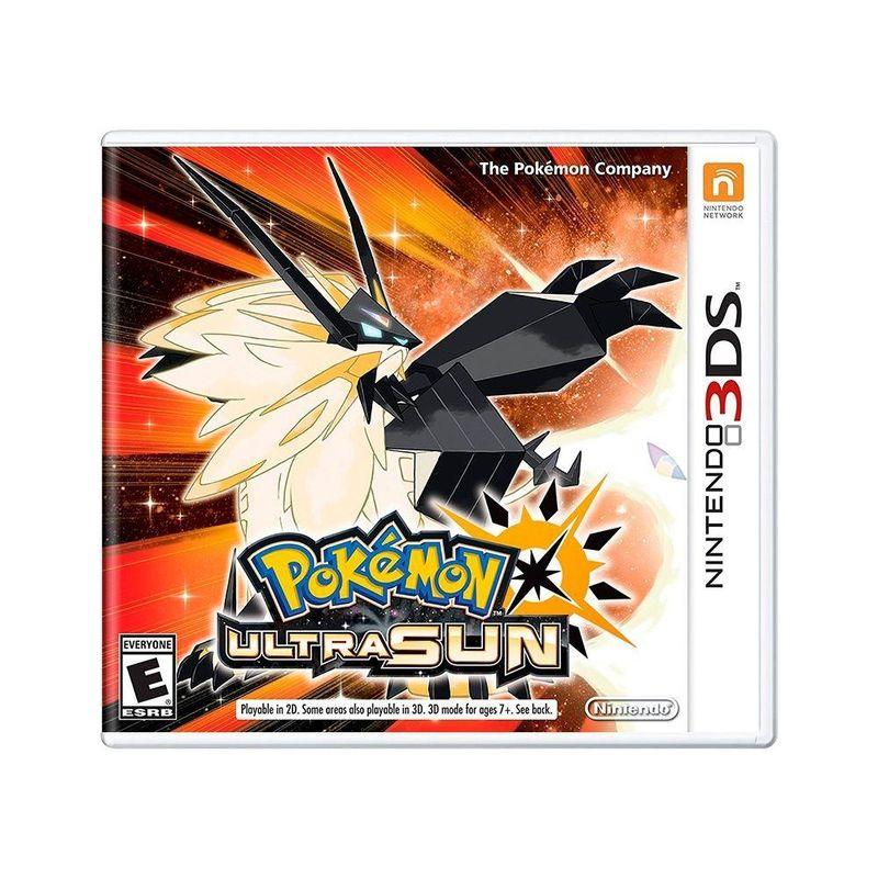 Jogo Pokémon Ultra Sun - 3ds - Nintendo