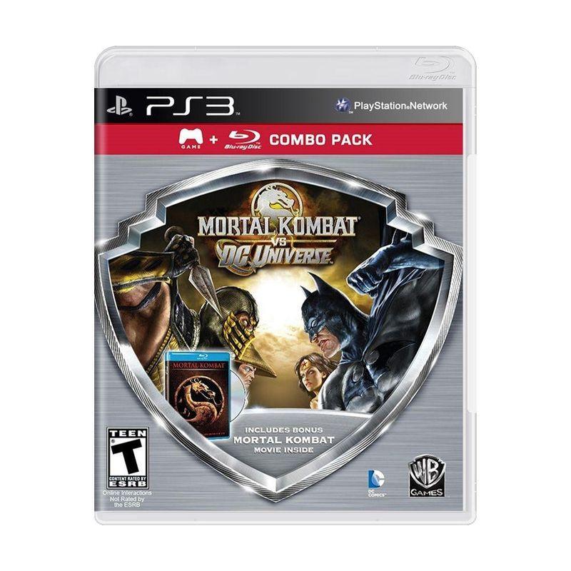 Jogo Mortal Kombat Vs. Dc Universe - Combo Pack - Playstation 3 - Warner Bros Interactive Entertainment