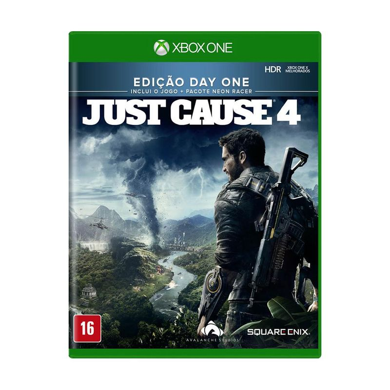 Jogo Just Cause 4 - Day One Edition - Xbox One - Square Enix