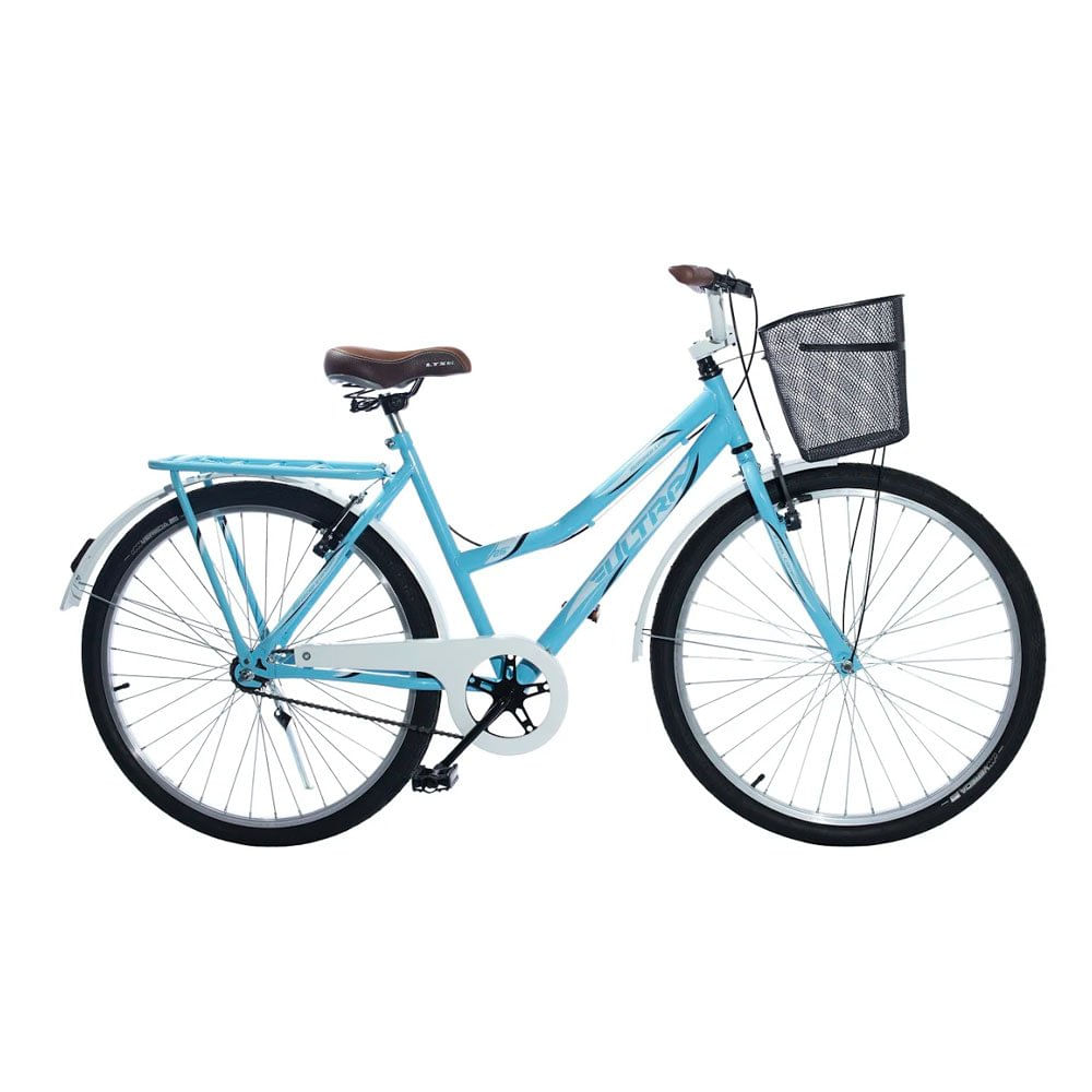 Bicicleta Kls Free Style Aro 20 Rígida 1 Marcha - Azul/branco